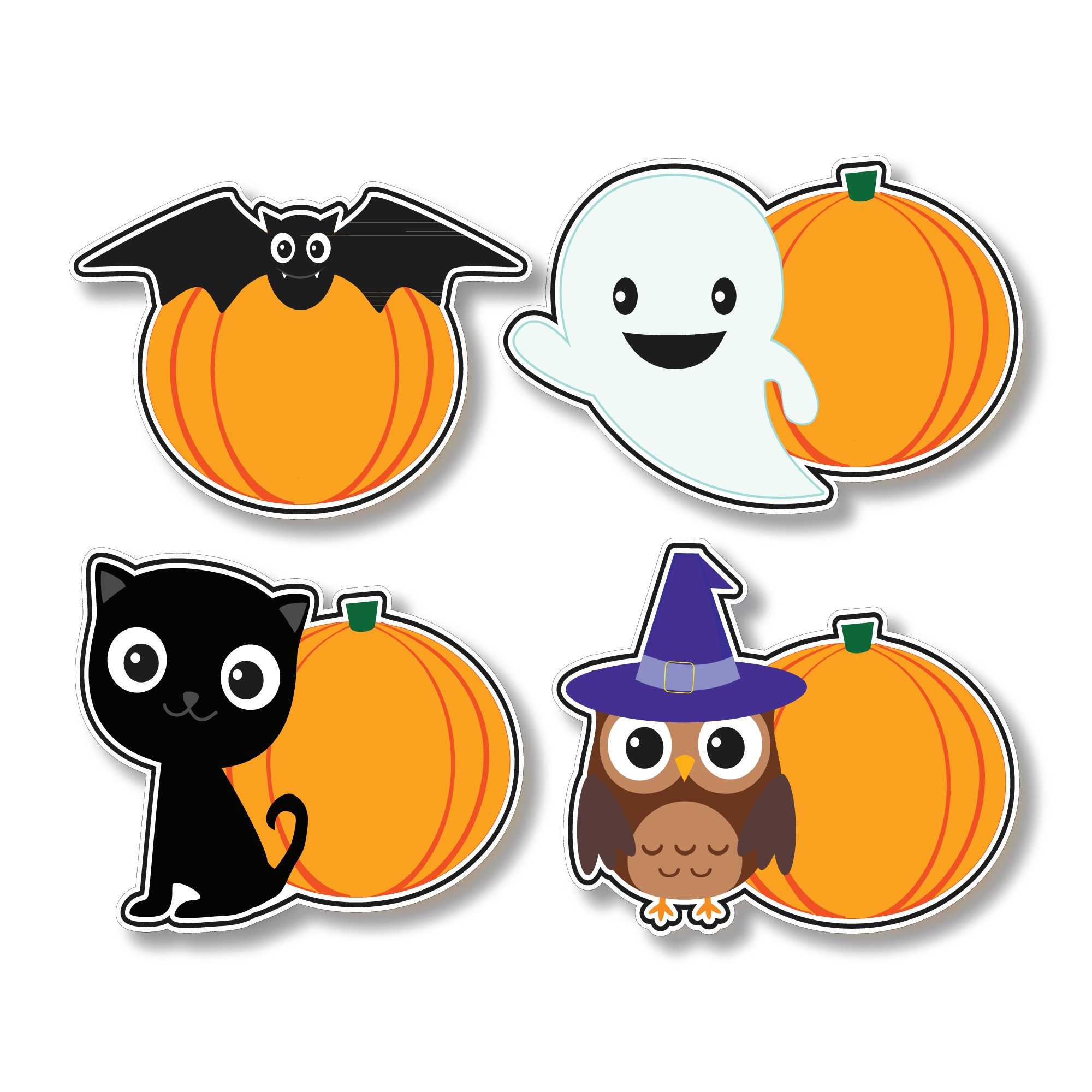 hllnfun trrs halloween fun stickies friendly terrors lovable - Halloween Fun Images