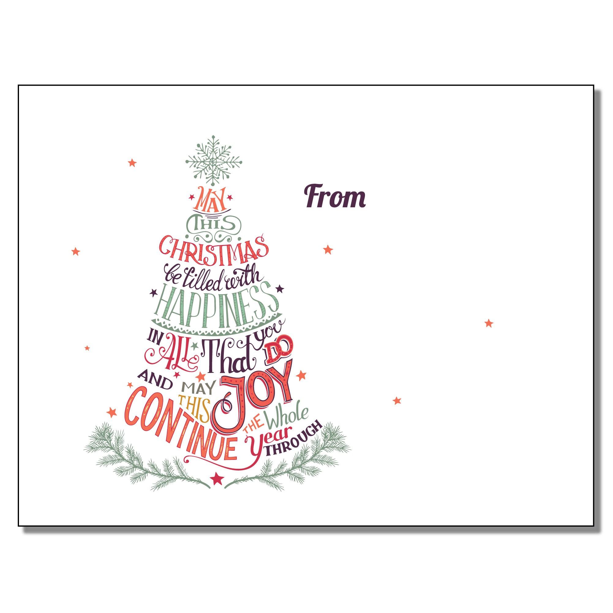 SWEET-JOY Sweet Note - Christmas Joy | Lovable Labels