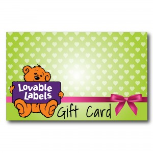 Gift Cards Lovable Labels