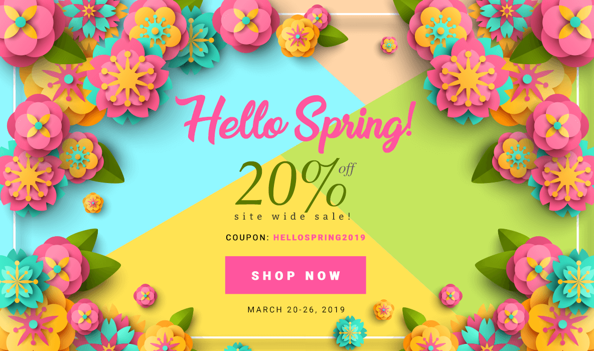 Lovable Labels - Hello Spring Label Sale