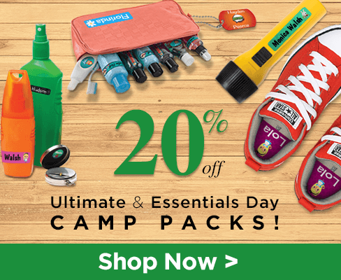 Lovable Labels - Early Bird Camp Sale