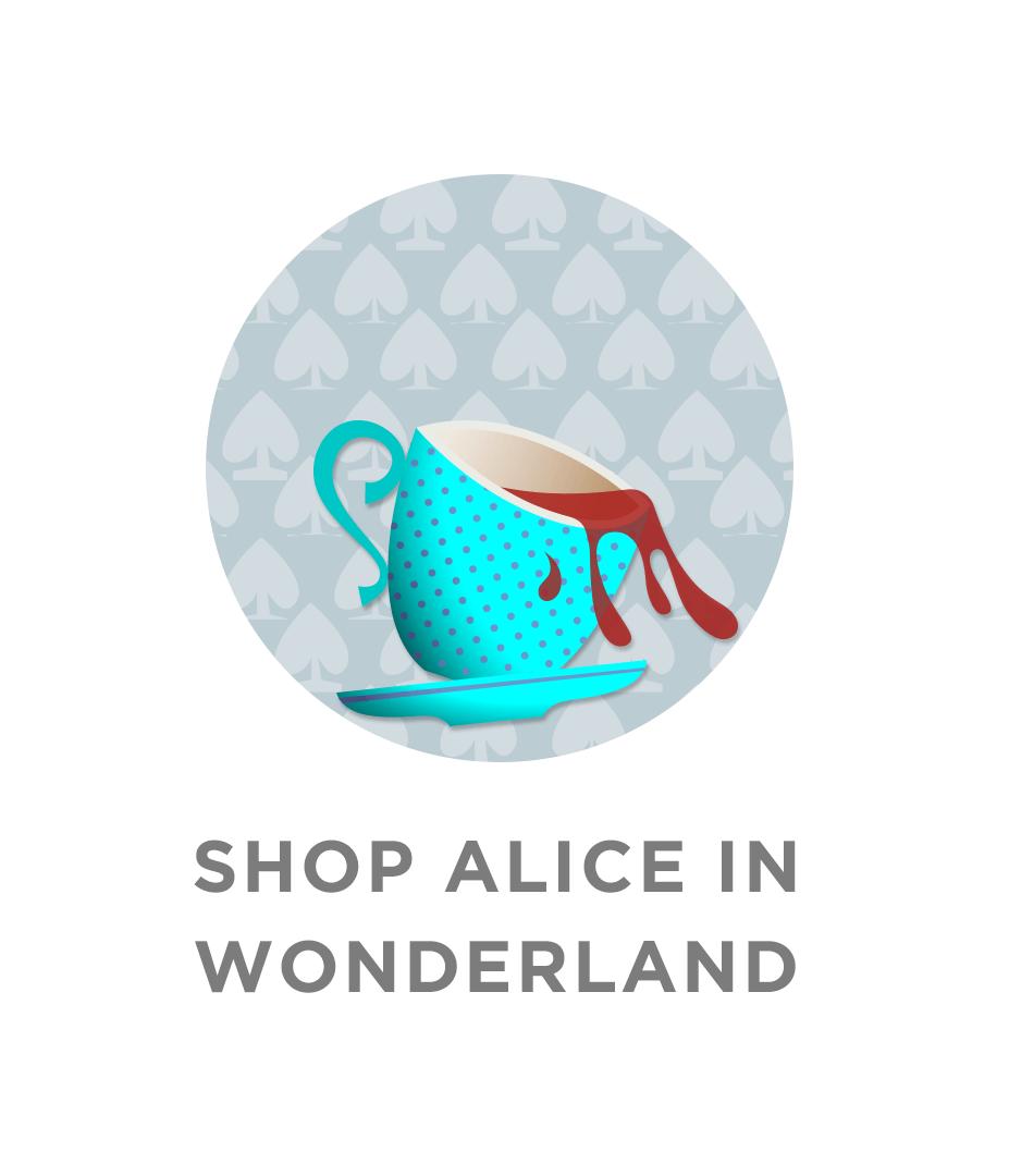 Shop Alice in Wonderland Labels