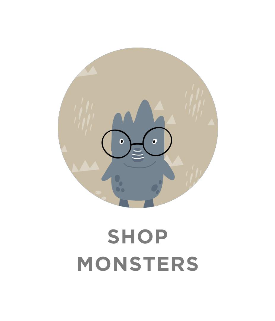 Shop Little Monsters Labels