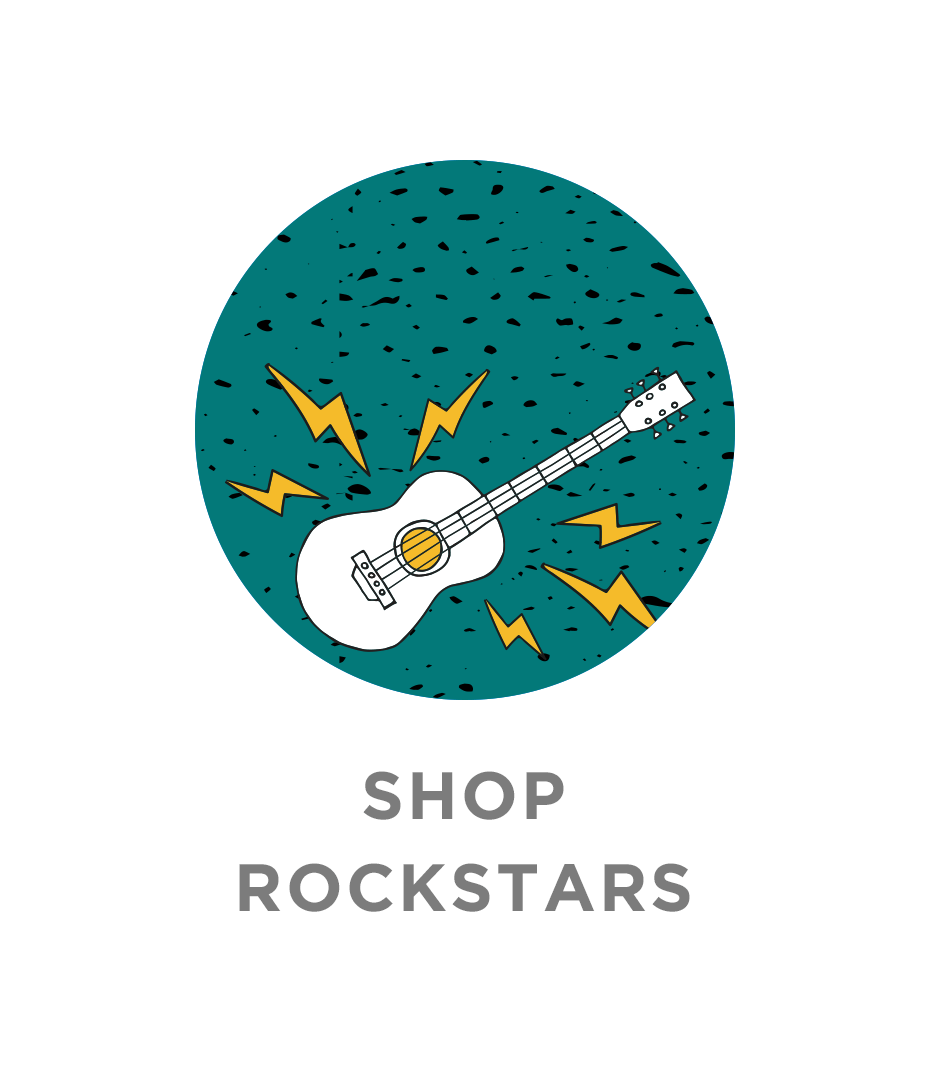 Shop rock star labels